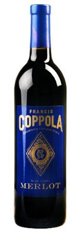 Francis Ford Coppola Diamond Collection Merlot Blue Label